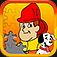 Fireman JigSaw Puzzle - Animated Puzzles for Kids with Fun Firetruck and Firemen Cartoons!